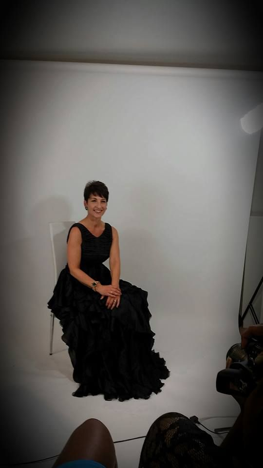 Photo shoot for Mumpreneur magazine today as part of Wear it for Autism build up for fashion show.