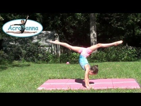 ▶ Tick Tock Challenge | Annie the Gymnast | Gymnastics Tips | Acroanna - YouTube