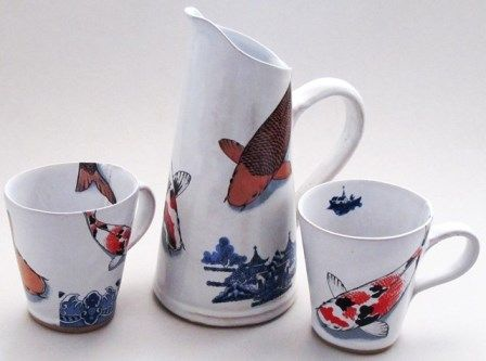 Cups and jug