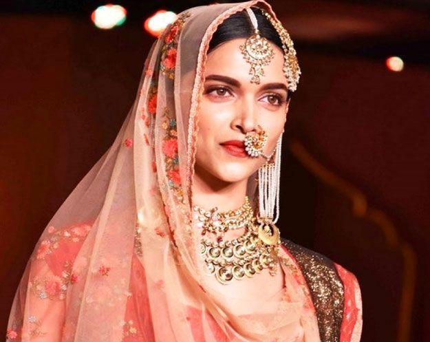 Bridal #jewellery inspiration from Deepika Padukone in Bajirao Mastani