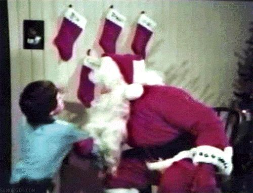 Christmas Punch GIF - Find & Share on GIPHY