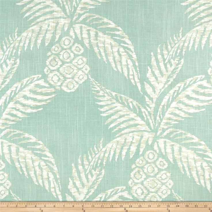 Screen printed on a cotton/rayon blend this medium/heavyweight fabric is very versatile. This fabric is perfect for window treatments (draperies, valances, curtains, and swags), pillow shams, duvet covers, toss pillows, slipcovers and upholstery.