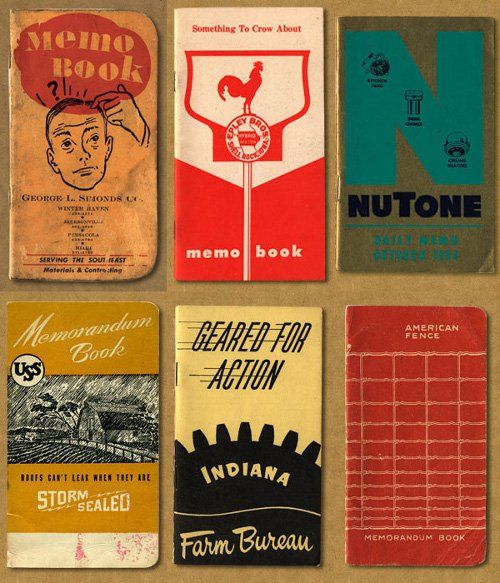 Pocket Notebooks: A Brief History