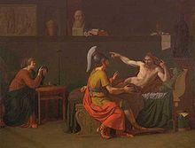 Pericles disfrutó de la compañía de muchos filósofos entre ellos Anaxágoras ,el mayor seguidor de este era él. Anaxágoras (500 - 428 a.C.) fue un filósofo presocrático y llegó a convertirse en un buen amigo y le influenció  en su forma de pensar y en el carisma que tenía en su retórica esto podría haber sido una consecuencia del énfasis filosófico en la calma emocional, su calma y auto control proverbial también se contemplan como parte de la influencia de Anaxágoras.