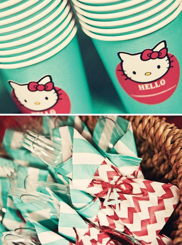 Hello Kitty Party <3: Infantilesfiestas Infantiles, Hello Kitty Birthday, Party, Fiestas Infantilesfiestas, 3Rd Birthday, 2Nd Birthday, Fiesta Kitty