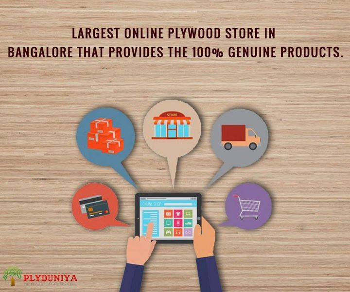 We are the largest online plywood store in Bangalore; with more than 1000s of products available. Plyduniya is known for its genunity & customer service since 1985. :) - http://ift.tt/1HQJd81