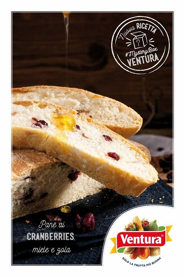 Quanto è appetitoso questo pane arrotolato con gorgonzola e cranberries Ventura?  Grazie a Monica Giustina di One cake in a million per averlo preparato per noi! www.onecakeinamillion.ifood.it/…/pane-basso-ai-cranberries-… P.s. il ticco finale del miele lo rende ancora più squisito  ‪#‎MysteryBox‬ ‪#‎VenturaTopBlogger‬