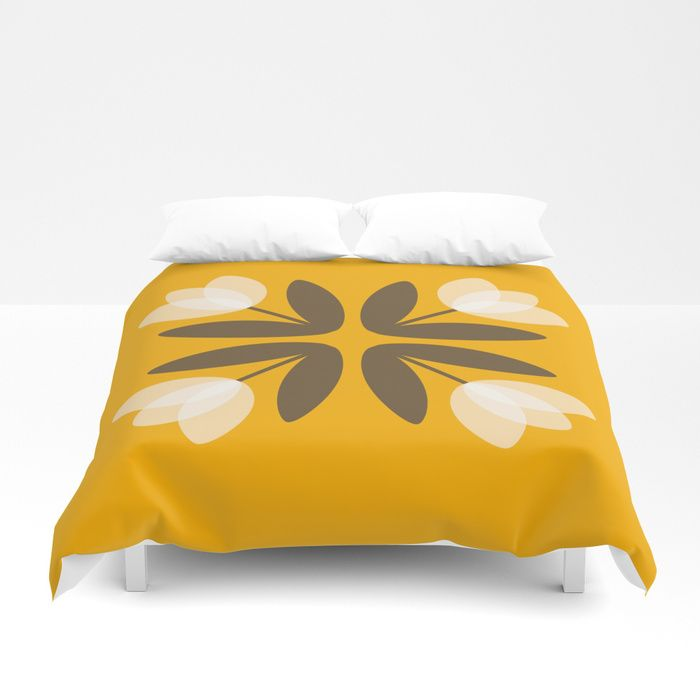 Buy Tulips from Amsterdam in Mustard Yellow Duvet Cover by huckleberrysuzie. Worldwide shipping available at Society6.com. Just one of millions of high quality products available.