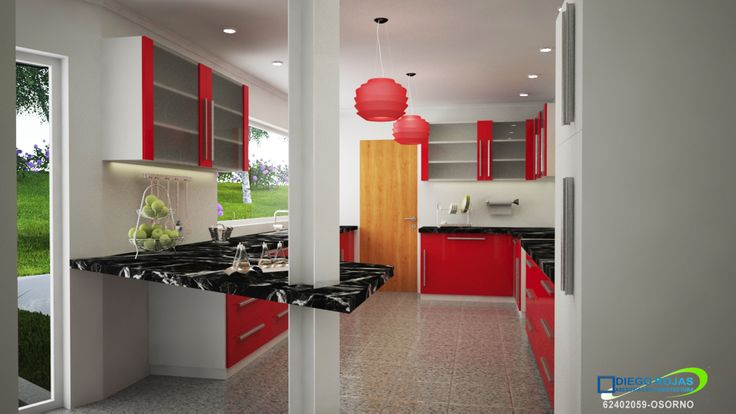 Interior House Lake - Cocina - Puerto Varas Arquitecto: Diego Rojas | cel:+56 9 62402059 | Osorno
