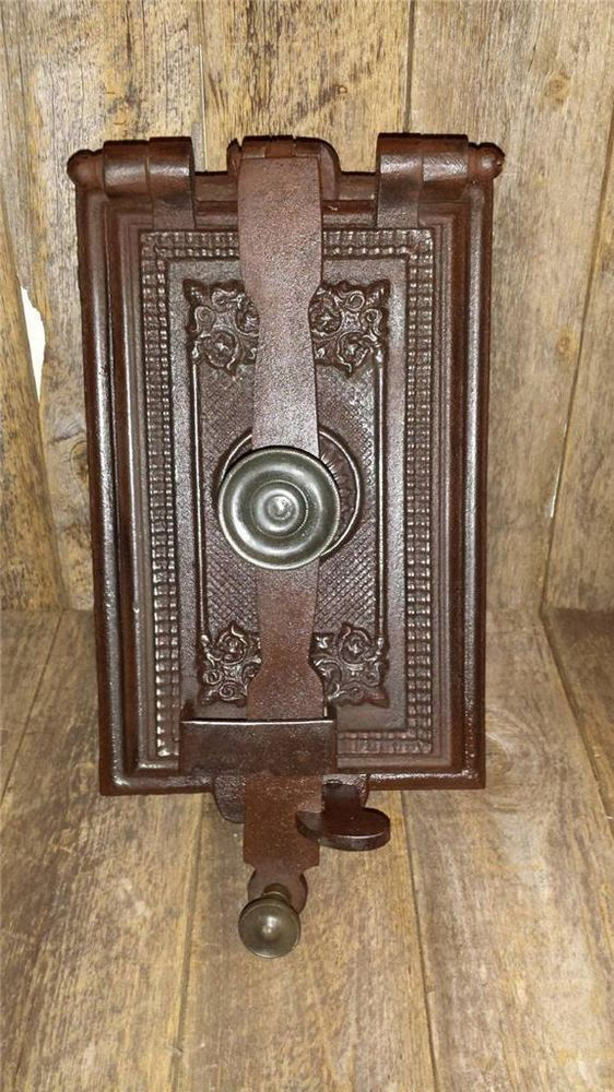 17 Best Images About Cast Iron Oven Doors On Pinterest