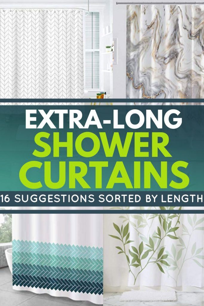 Extra Long Shower Curtains 16 Suggestions Sorted By Length