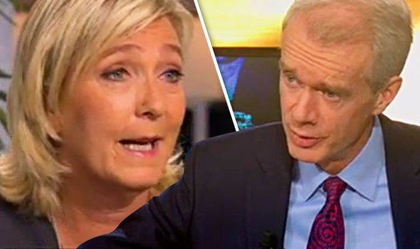 Its time to STOP this propaganda Marine Le Pen SLAPS DOWN BBC journalist over Brexit