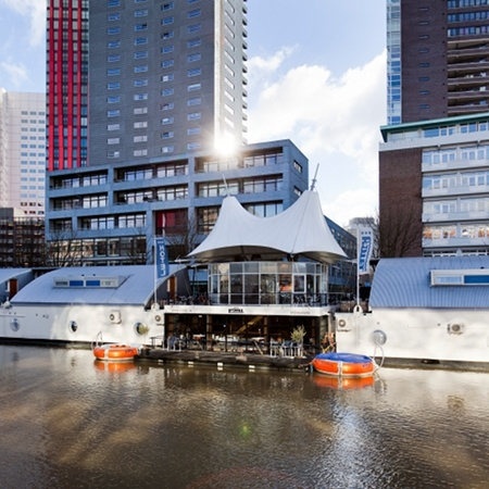 floating hotel rotterdam