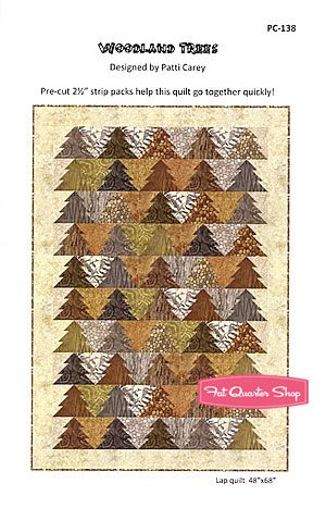 Woodland+Trees+Quilt+Pattern+Patti+Carey   Quilts   Pinterest