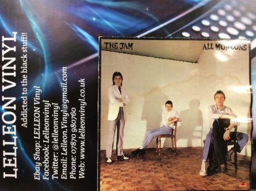 The Jam All Mod Cons LP Album Vinyl POLD5008 A2/B3 Rock MOD 70's 'Paul Weller' Music:Records:Albums/ LPs:Rock:Punk