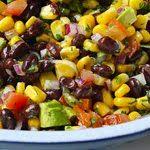 Black Beans and Corn mix...sooooo fresh and yummy!