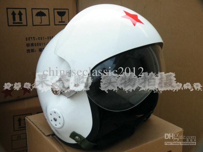 Wholesale cheap flight helmet online, Open Face Helmet   - Find best  Jet Pilot Flight Helmet Open Face Motorcycle Helmet white Mask airline helmet 55-60cm at discount prices from Chinese Motorcycle Helmets supplier - chineseclassic2012 on DHgate.com.