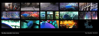 Pixar Post - For The Latest Pixar News: Beautiful Concept Art from The Blue Umbrella