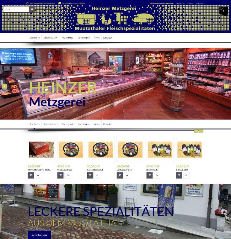 Redesign des E-Shop der Heinzer Metzgerei in Muotathal mit Magento 1.9.2 und responsivem Design. https://www.cytracon.com/news/news-detail/article/heinzer-metzgerei-muotathal/