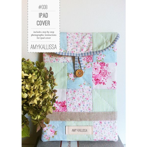 IPad Cover Sewing Pattern Available in PDF Download and Print