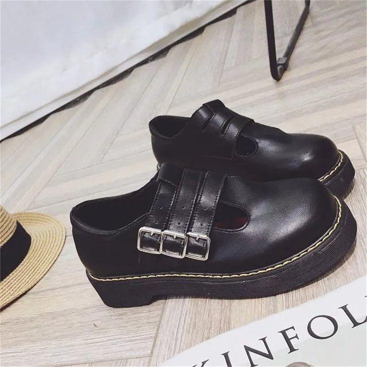 Top venda mulheres estilo Britânico oxfords sapatos de sola grossa de alta fêmea plataforma de couro sapatos casuais apartamentos zapatillas mujer XK090851 em Apartamentos das mulheres de Sapatos no AliExpress.com | Alibaba Group