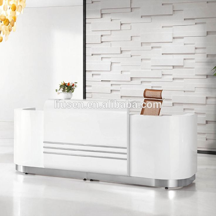 Popular Elegant Design Beauty Salon Furniture Reception