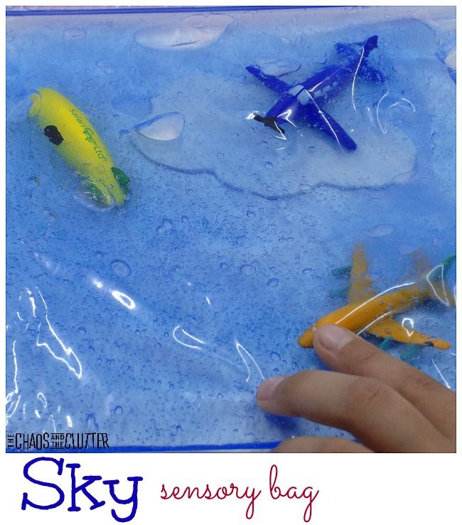 Sky sensory bag is perfect for little explorers.