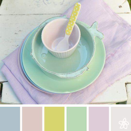 soft color - jardin joli