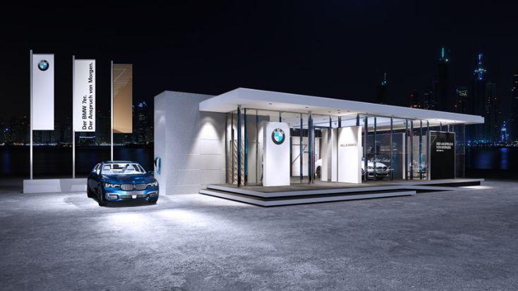 Design: BMW Luxury Exellence Pavilion + Showroom;  Architect: Puchner P3