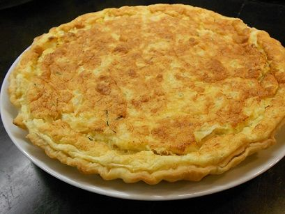 Bacalhau Pie (Tarte de Bacalhau) - Easy Portuguese Recipes - a unique take on Bacalhau com Natas