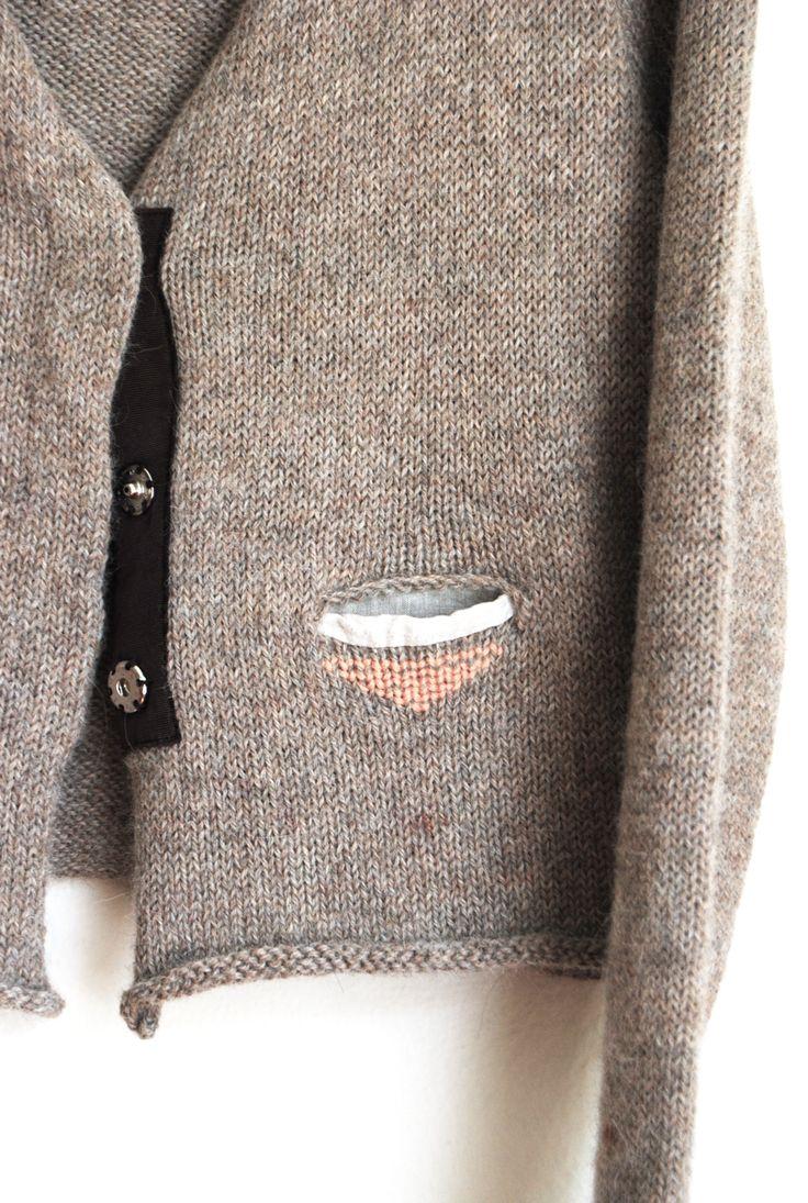 the details   P R I M O E Z A shop - knitting and fabric detail