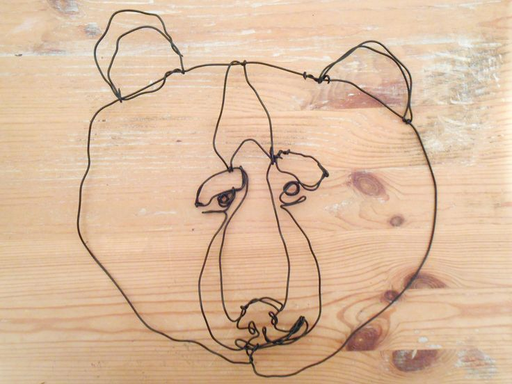 Wire Wall Art, Sculptures, Paintings And Head Planters! Part 61
