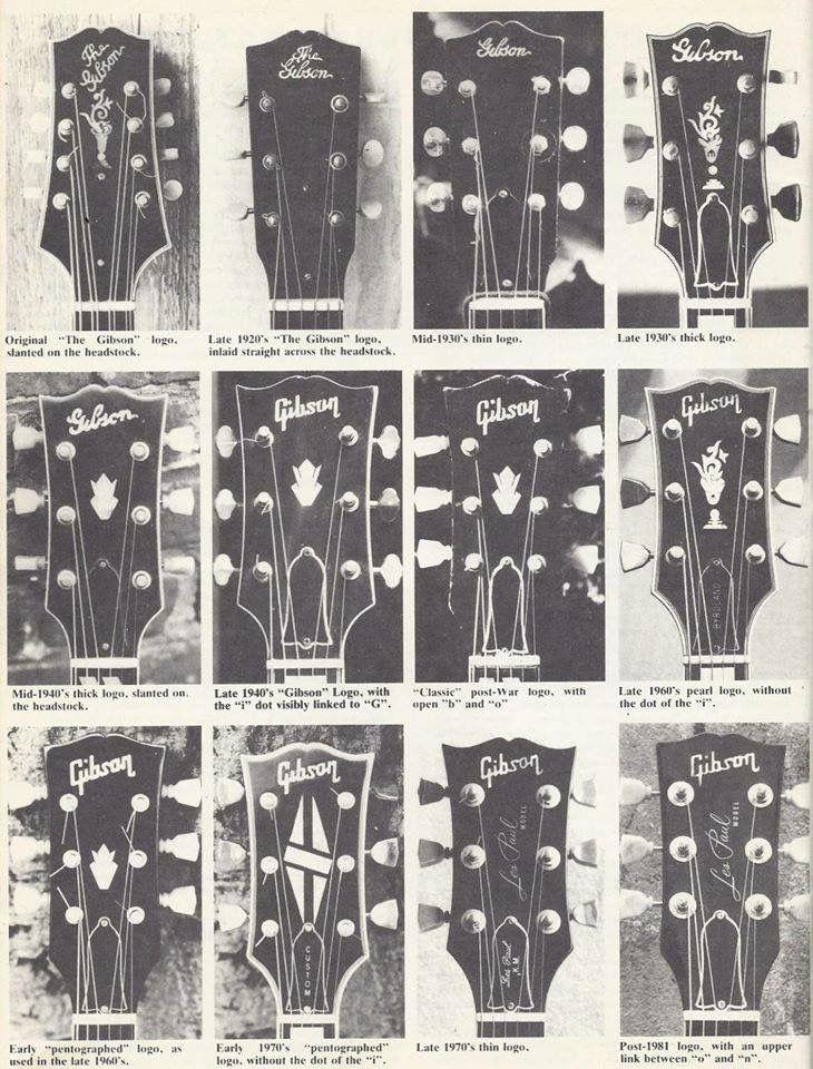Gibson Headstocks