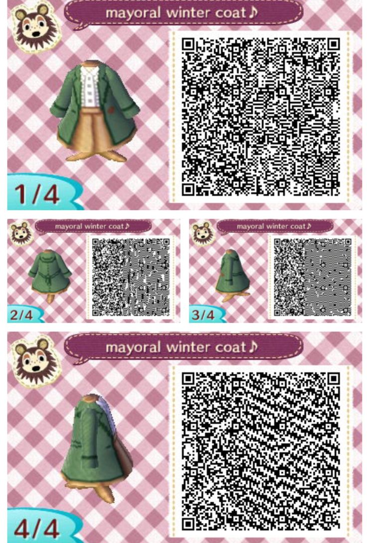 animal crossing QR codes | Favorite Animal Crossing QR