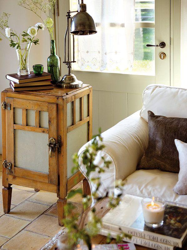63 best images about muebles antiguos on pinterest - Reciclar muebles viejos ...