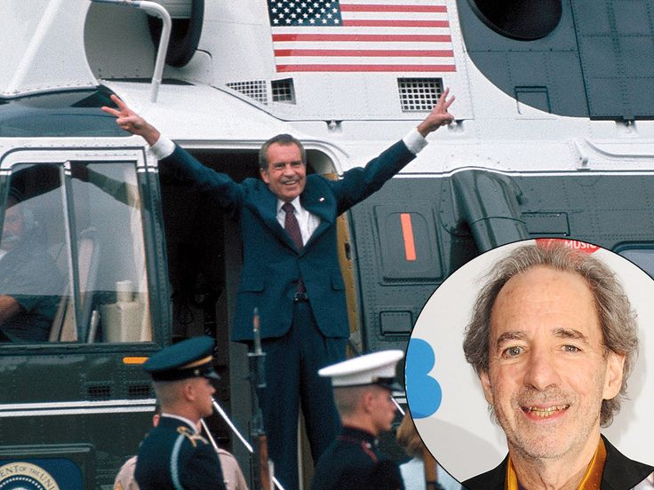 On the 40th Anniversary of Richard Nixon's Resignation, See Harry Shearer Re-Enact the Historic Moment http://www.people.com/article/richard-nixon-harry-shearer