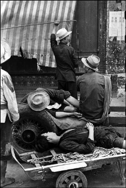 China. Shanghai, 1949 // by Henri Cartier-Bresson