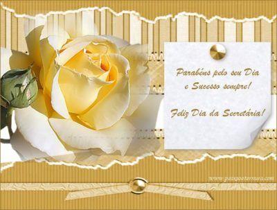 mensagens para dia da secretaria feliz dia