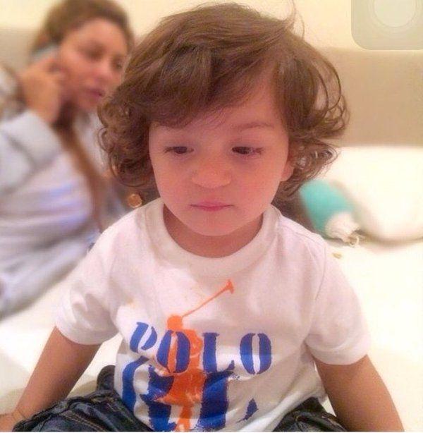 Srk little son abhram khan