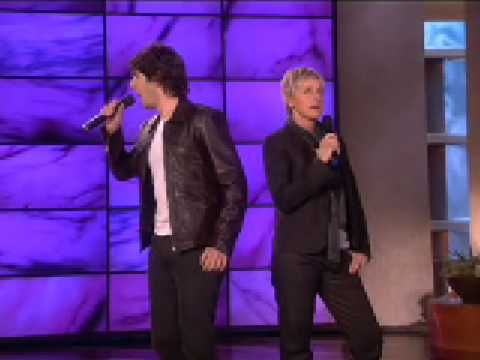 Josh Groban And Ellen Sing Total Eclipse Of The Heart I Love Them