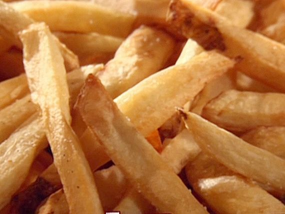 Double-fried French fries | French fries recipe, Double ...
