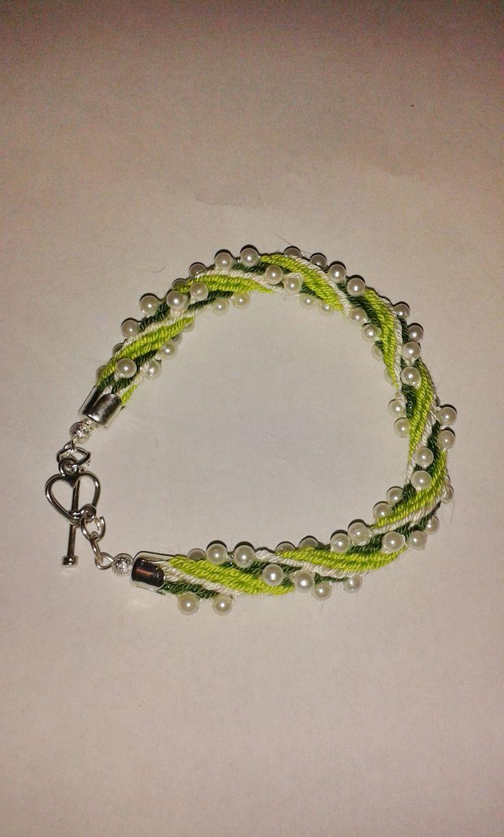 spring beads bracelet