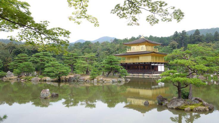 金閣寺 in summer in2014