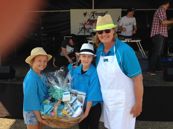 """""""Tastings on the Hastings"""" hamper courtesy of Coast Front Realty"""