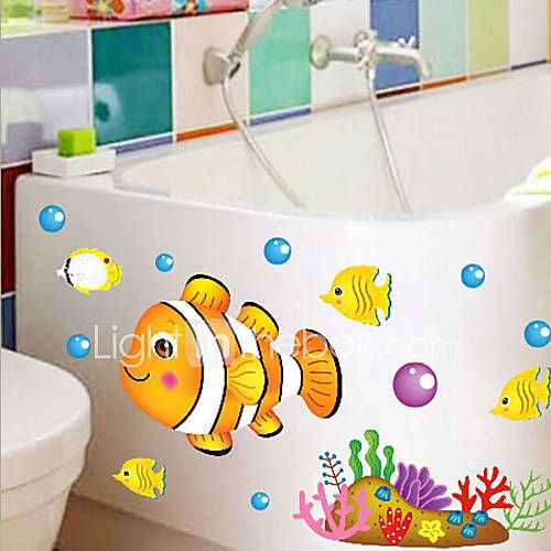Marine Fish European Children's Room Stickers Wall 4693806 2017 – $2.99