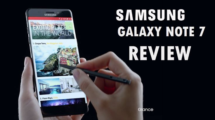 Samsung Galaxy Note 7 Hands-On Review!