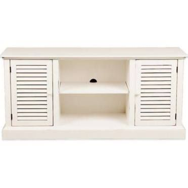 white rustic media cabinet - Google Search