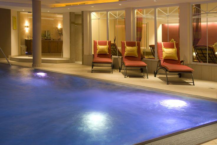 Pool zum Entspannen und Entschleunigen.