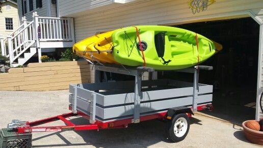 Kayak trailer                                                                                                                                                                                 More