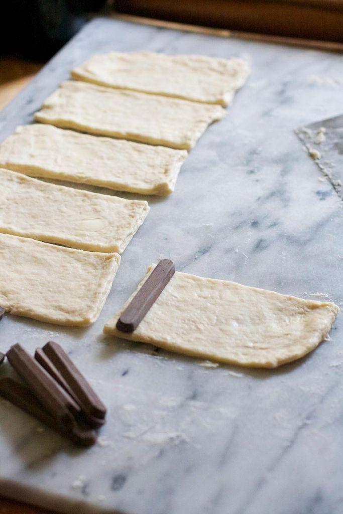 Chocolate Croissants (Pain au Chocolat)